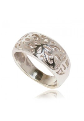 FLOWER PATTERN RING