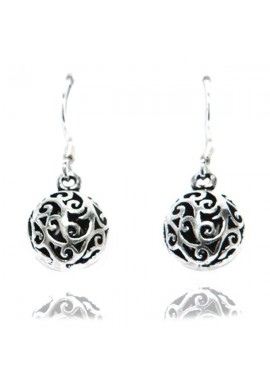 FILLIGREE BALL EARRINGS